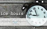 Robinson-Office-Hours-Change